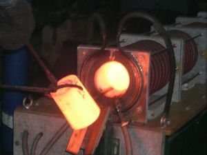 Induction forging &Induction heat treatment